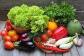 Ensemble de légumes frais — Photo