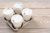 Take Out Coffee Cups — Stock Photo