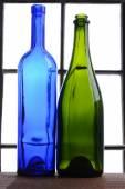 Empty Wine Bottle Still Life — Stock Photo