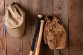 Baseball Still Life — Stock Photo