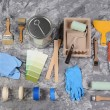 Painting Supplies — Stock Photo #54594029