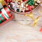 Tins of Ribbons and Bows — Stock Photo #54697809