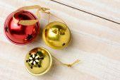 Jingle Bells Closeup Horizontal — Stock Photo