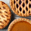 Pies on Cooling Racks — Stock Photo #58157267