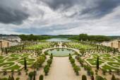 Beautiful garden in a Famous palace Versailles, France  — Stock Photo