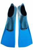 Scuba flippers isolated on white background — Stock Photo