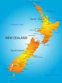 New Zealand — Stock Vector