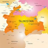 Tadzjikistan — Stockvector