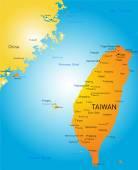 Taiwan — Stock Vector