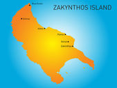 Zakynthos — Stock Vector