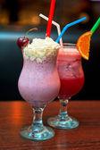 Cocktails milkshake — Stock Photo