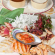 Seafood mix — Stock Photo #58810527