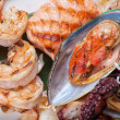 Seafood mix — Stock Photo #58810701