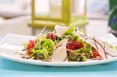 Grilled vegetables salad — Stock Photo