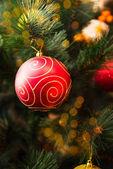 Christmas tree closeup — Stock Photo