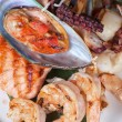 Seafood mix — Stock Photo #60418545