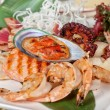 Seafood mix — Stock Photo #60418605