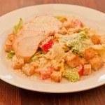 Chicken ceasar salad — Stock Photo #60599163