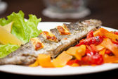 Rainbow trout fish — Stock Photo