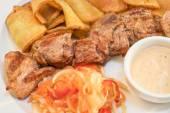 Grilled pork — Stock Photo