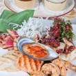 Seafood mix — Stock Photo #66313203