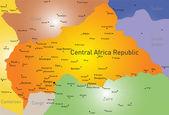 Central Africa Republic — Stockvector