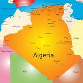 Algerien — Stockvektor