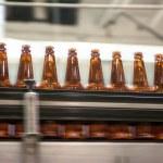 Beer conveyor — Stock Photo #68604459