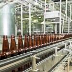 Beer conveyor — Stock Photo #68604513