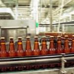 Beer conveyor — Stock Photo #68604565