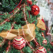 Christmas tree closeup — Stock Photo #69334719