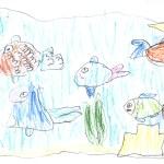 Kids drawing — Stock Photo #73130175