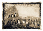 Gritty image of Colosseum — Stock Photo