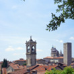 Bergamo Citta Alta — Stock Photo #66263417