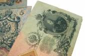 Dinheiro de papel velho — Fotografia Stock