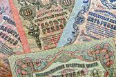Old paper money — Стоковое фото