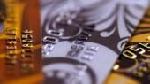 Credit card close-up — Stock Photo