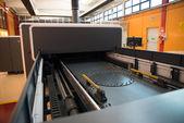 Digital printing - wide format printer — Stock Photo