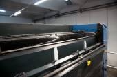Printing plant - Offset press machine — Stock Photo