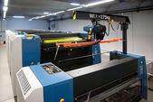 Planta de Impressão - Offset máquina de imprensa — Fotografia Stock