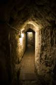 Acre, Israel - The Templar Tunnel — Stock Photo