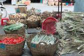 Mercado de vegetales asiático — Foto de Stock