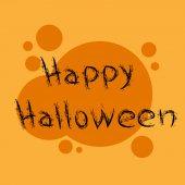 Mutlu Cadılar Bayramı kartı — Stok Vektör