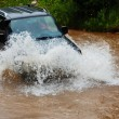 Car crossing water — Stock Photo #63296675