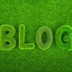 Grass blog word — Stock Photo #60989889