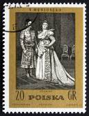Postage stamp Poland 1972 The Countess, an Opera by Moniuszko — Stock Photo