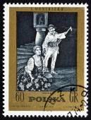 Postage stamp Poland 1972 Halka, an Opera by Moniuszko — Stock Photo