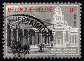 Postage stamp Belgium 1982 Judiciary Sesquicentennial — Stock Photo