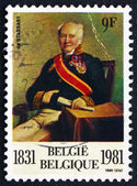 Postage stamp Belgium 1981 Baron de Stassart, Belgian Politician — Stock Photo