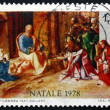 Постер, плакат: Postage stamp Italy 1978 Adoration of the Kings by Giorgione